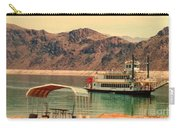 Steamer Along Lake Mead Carry-all Pouch