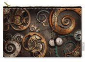 Steampunk - Abstract - Time Is Complicated Carry-all Pouch by Mike Savad