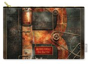 Steampunk - Alphabet - B Is For Belts Carry-all Pouch