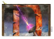 Steampunk - Alphabet - D Is For Death Ray Carry-all Pouch
