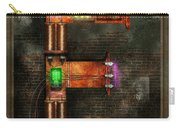 Steampunk - Alphabet - E Is For Electricity Carry-all Pouch