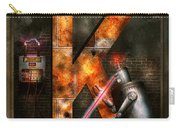Steampunk - Alphabet - K Is For Killer Robots Carry-all Pouch