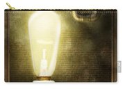 Steampunk - Alphabet - L Is For Light Bulb Carry-all Pouch
