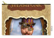 Steampunk Button Carry-all Pouch