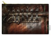 Steampunk - Electrical - Motorized  Carry-all Pouch by Mike Savad