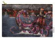 Steampunk - Enteroctopus Magnificus Roboticus Carry-all Pouch by Mike Savad