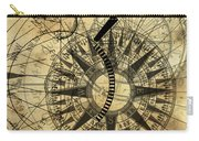 Steampunk Gold Compass Carry-all Pouch