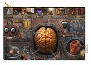 Steampunk - Information Overload Carry-all Pouch by Mike Savad