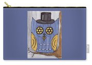 Steampunk Owl Carry-all Pouch