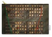 Steampunk - Phones - The Old Switch Board Carry-all Pouch by Mike Savad