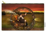 Steampunk - The Gentleman's Monowheel Carry-all Pouch by Mike Savad