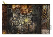 Steampunk - The Turret Computer  Carry-all Pouch by Mike Savad