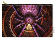 Steampunk - The Webs We Weave Carry-all Pouch by Mike Savad