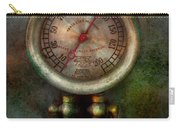Steampunk - Train - Brake Cylinder Pressure  Carry-all Pouch by Mike Savad