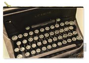 Steampunk - Typewriter - The Age Of Industry Carry-all Pouch by Paul Ward
