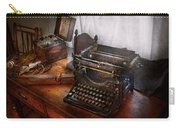 Steampunk - Typewriter - The Secret Messenger  Carry-all Pouch by Mike Savad