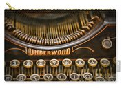 Steampunk - Typewriter - Underwood Carry-all Pouch by Paul Ward