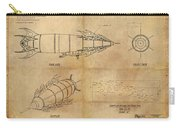 Steampunk Zepplin Carry-all Pouch by James Christopher Hill