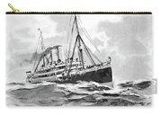 Steamship Menu, 1901 Carry-all Pouch