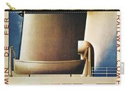 Steamship Travel Poster Carry-all Pouch by Granger