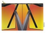Steel Beams 02 Mirror Image Carry-all Pouch