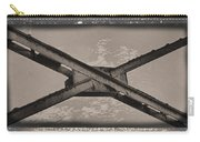 Steel Cross Beams Carry-all Pouch