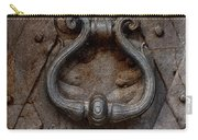 Steel Decorated Doorknob Carry-all Pouch