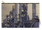 Steel Mill - Bethlehem Pa Carry-all Pouch by Bill Cannon