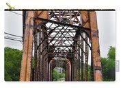 Steel Span Railroad Bridge Manayunk  Philadelphia Pa Carry-all Pouch
