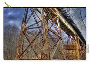 Steel Strong Rr Bridge Over The Yellow River Carry-all Pouch