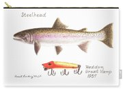Steelhead And Heddon Great Vamp Lure 1937 Carry-all Pouch