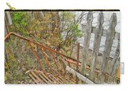 Steep Steps To Beach - Finger Lakes Carry-all Pouch