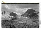 109629-bw-steeple And Temple Peaks, Wind Rivers Carry-all Pouch