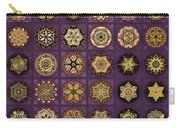 Stellars One Dingbat Quilt Carry-all Pouch