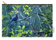 Steller's Jay In A Tree Carry-all Pouch