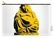 Stencil Buddha Yellow Carry-all Pouch