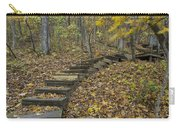 Step Trail In Woods 12 Carry-all Pouch