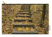 Step Trail In Woods 14 Carry-all Pouch