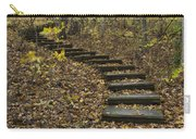 Step Trail In Woods 15 Carry-all Pouch