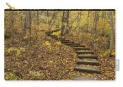 Step Trail In Woods 16 Carry-all Pouch