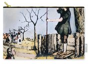 Stephen Hales (1677-1761) Carry-all Pouch
