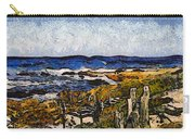 Steps To The Sea Abstract Carry-all Pouch by Barbara Snyder