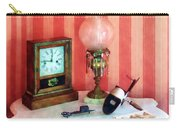 Stereopticon Lamp And Clock Carry-all Pouch