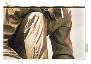 Steve Mcqueen Artwork Carry-all Pouch by Sheraz A