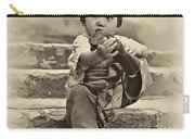 Sticky Boot Antique Sepia Carry-all Pouch