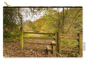 Stile In Plessey Woods Carry-all Pouch