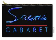 Stiletto's Cabaret Carry-all Pouch