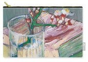 Still Life    A Flowering Almond Branch Carry-all Pouch by Vincent Van Gogh