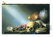 Still Life An Allegory Of The Vanities Of Human Life Carry-all Pouch
