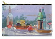 Still Life And Seashore Bandol Carry-all Pouch by Sarah Butterfield